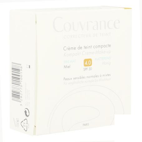 Avene Couvrance Crème Teint Compacte 04 Miel  10gr