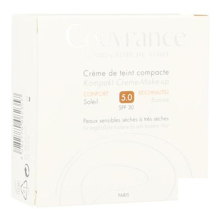 Avene Getinte Compact Crème Comfort Soleil (05) 10gr