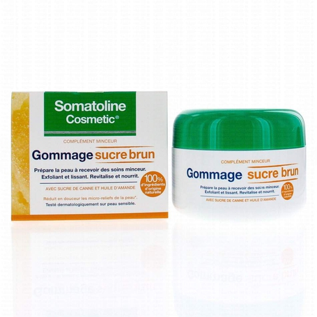 Somatoline Cosmetic Gommage exfoliant sucre brun 350gr