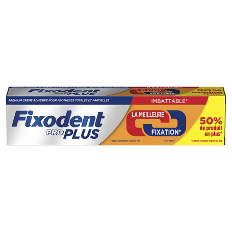 Fixodent pro plus duo action pate adhesive 60g