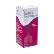 Toularynx dextromethorphan sol or 180ml