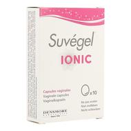 Suvegel ionic caps vaginales 10
