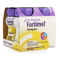 Fortimel Compact Banane 125ml 4pc