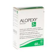 Alopexy 2 % liquid fl plast pipette 1x60ml