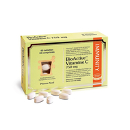 Bioactive vitamine c 750mg tabl 60