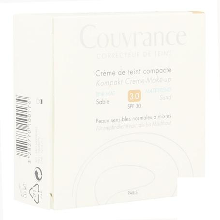 Avene Couvrance Crème Teint Compacte 03 Sablé 10gr