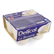 Delical Le brassé vanille 4x200g