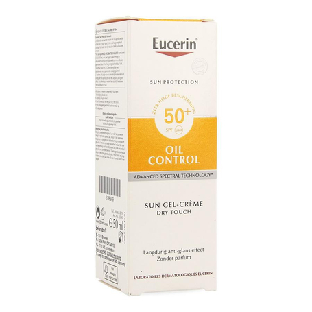 Eucerin Sun Oil control toucher sec SPF50+ 50ml