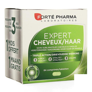 Fortepharma Expert Cheveux Tripack 84pc