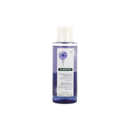 Klorane Korenbloem Make-up remover waterproof 100ml