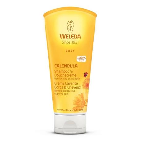 Weleda Baby Calendula crème lavante corps/cheveux 200ml