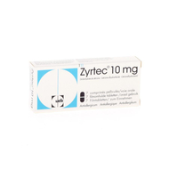 Zyrtec 10mg comp pell 7 x 10mg