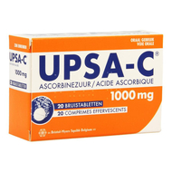 Upsa-c 1g comp efferv. 20