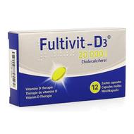 Fultivit-d3 20000iu caps molle 12