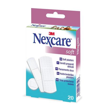 Nexcare Soft Strips 20st