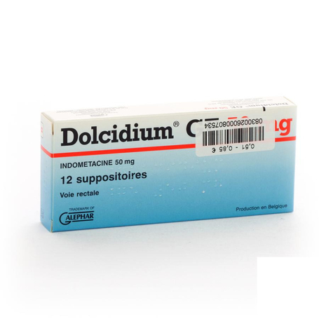 Dolcidium supp 12 x 50mg