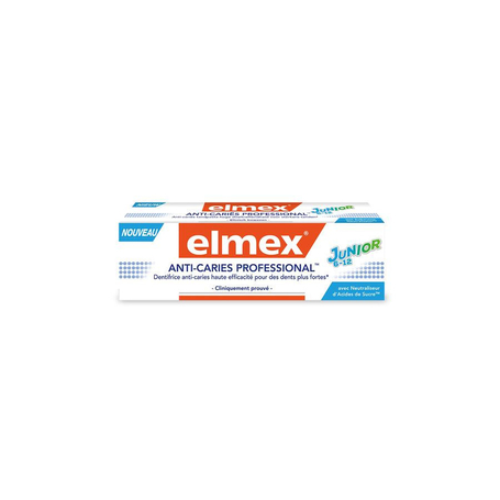 Elmex Anti-cariës Professional tandpasta junior 6-12 jaar tube 75ml