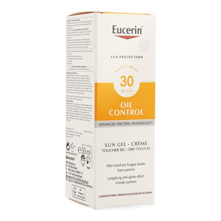 Eucerin Sun oil control toucher sec SPF30 50ml