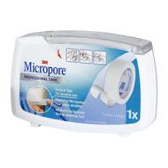 3M Micropore 12,5mmx9,1m dispenser 1st