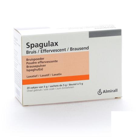 Spagulax efferv sach 20 x 5g