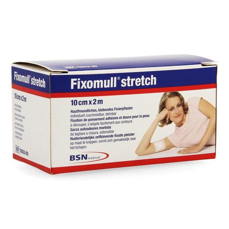 Fixomull stretch adh 10cmx 2m 1 7002200