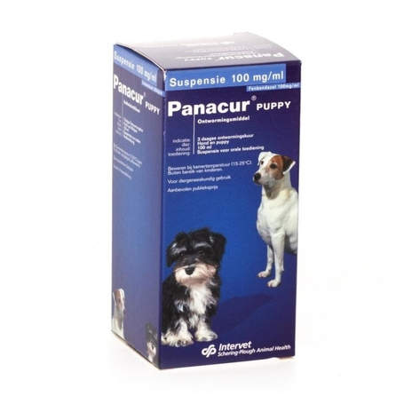 Panacur Puppy suspension 1x100ml