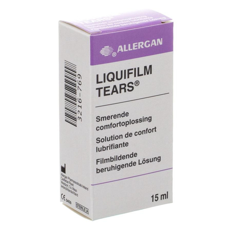 Liquifilm tears steriele oplossing nf 15ml
