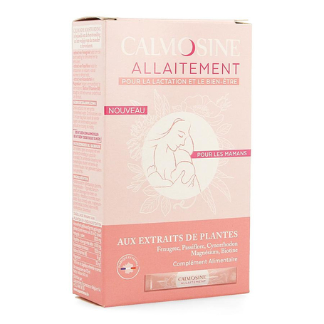 Calmosine Vedingssupplement borstvoeding met kruidenextracten 10ml stick 14st