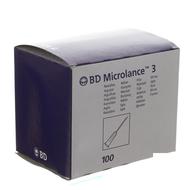 Bd microlance 3 aig.18g 1/2 sb 1,2mm 40mm rose 100