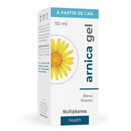Multipharma Arnicagel blauwe plekken en builen 50gr