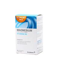 Multipharma Magnesium 450mg + vit b6 caps 120