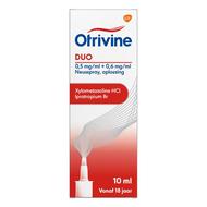 Otrivine duo 0,5/0,6 neusspray 10ml