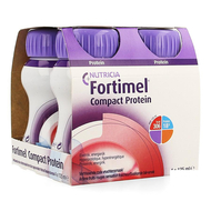 Nutricia Compact Protein Fraicheur Fruits rouge 125 ml 4pc