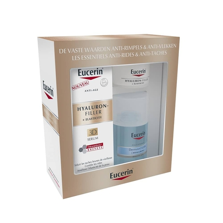 Eucerin Coffret Anti-age Hyaluron-filler Elasticity 3D sérum 3pc