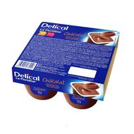 Delical Creme dessert la floridine chocolat 4x125g