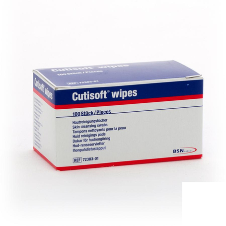 Cutisoft wipes skin cleansing swabs 100 7238301