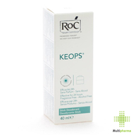 Roc keops deo stick z/alcohol z/parf nh 40ml