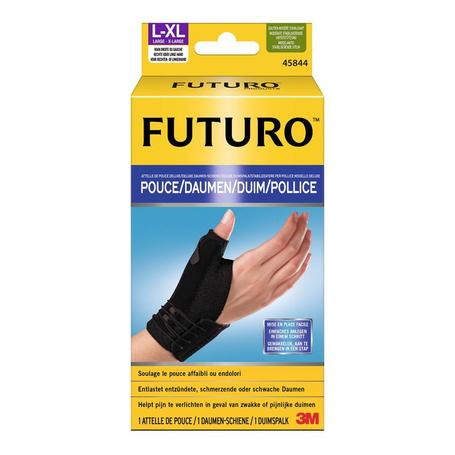 Futuro Deluxe duimspalk zwart L/XL 1st