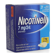 Nicotinell 7mg/24h pleister transdermaal 21st