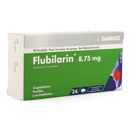 Flubilarin 8,75mg zuigtabletten 24st