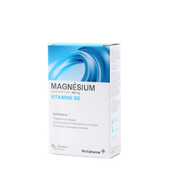 Multipharma Magnesium 450mg + Vit B6 caps 60pc