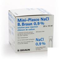 B Braun Mini-plasco NaCl 0,9% 20x10ml