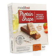 Modifast Protein Shape Chocoladereep karamel 6x27g