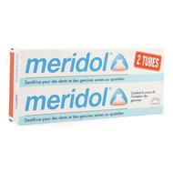 Meridol Tandpasta geïrriteerd tandvlees duopack 2x75ml