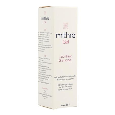 Mithra-gel glijmiddel gyneaco tube 40ml