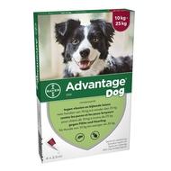 Advantage Dog 250 Honden 10<25kg 4x2,5ml