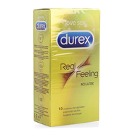 Durex real feeling latex free condoms 10