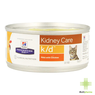 Hills prescrip.diet feline kd minced 156g 9453g