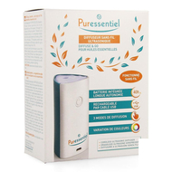 Puressentiel Diffuseur Ultrasonique Diffuse&Go 1pc