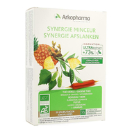 Arkofluides  synergie minceur bio amp  20pc